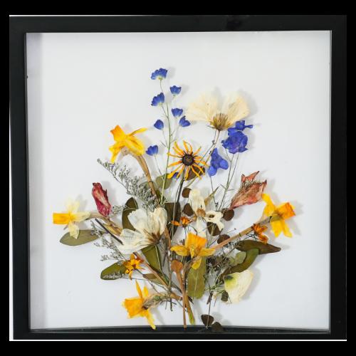Flower Bouquet Pressed Botanical