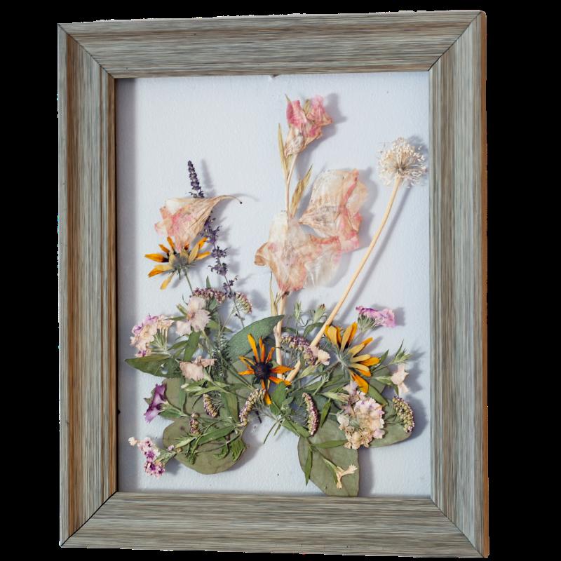 contemporary wooden frame
