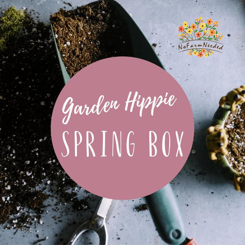 garden hippie spring box
