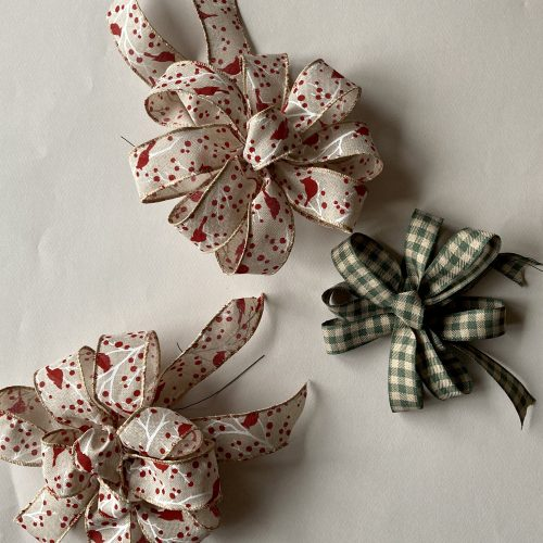 ed & Green Handmade Holiday Bows
