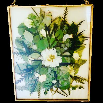 Pressed Wedding Flowers - Full Bouquet (1)