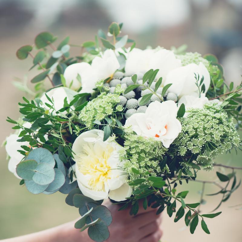 Pressing Wedding Flowers - Wedding Bouquet